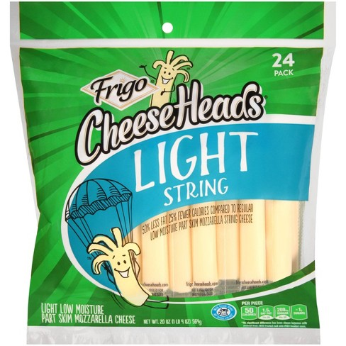 Frigo CheeseHeads Light String Cheese - 24ct/20oz - image 1 of 2