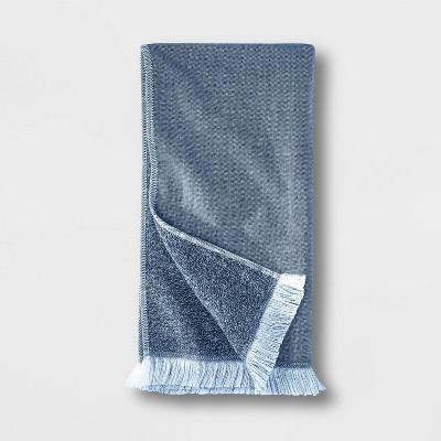 Flat Weave Hand Towel Blue - Casaluna™