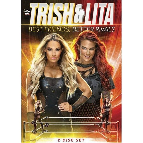 WWE: Trish Stratus and Lita - Best Friends, Better Rivals (DVD) - image 1 of 1