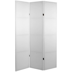 Tall Do It Yourself Canvas Room Divider - Oriental Furniture