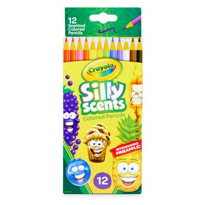 Crayola 12ct Scented Colored Pencils - Silly Scents