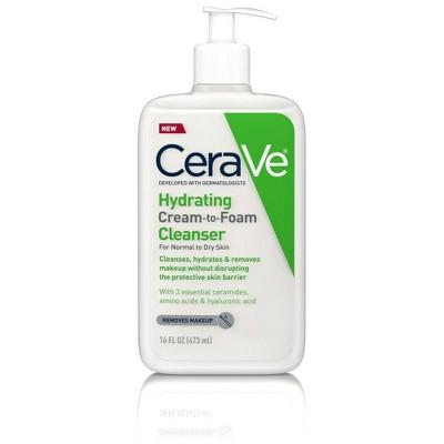 CeraVe Cream-to-Foam Facial Cleanser