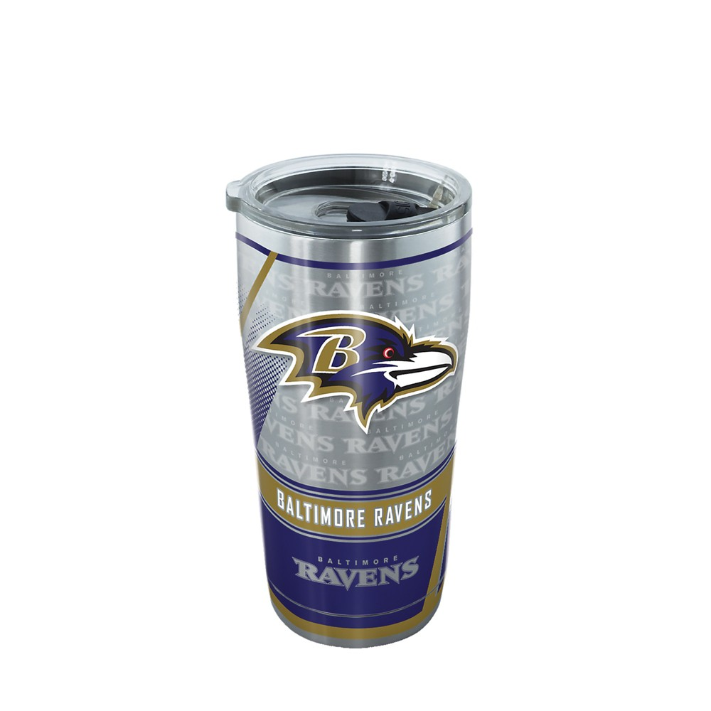 Baltimore Ravens 20oz Genuine Stainless Tumbler