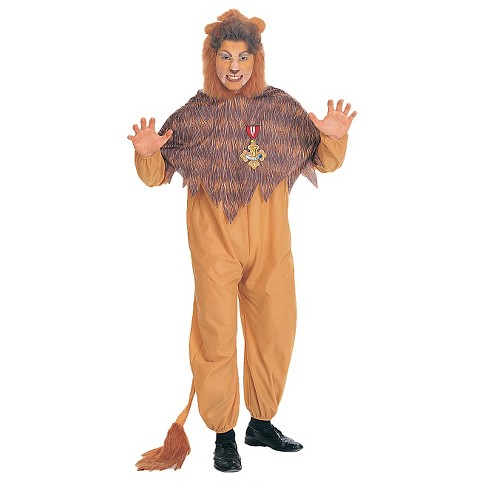 Men's Wiz Of Oz Cowardly Lion Costume One Size Fits Most - image 1 of 1