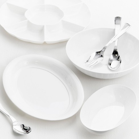 Creative Converting White Plastic Serving Set - image 1 of 1