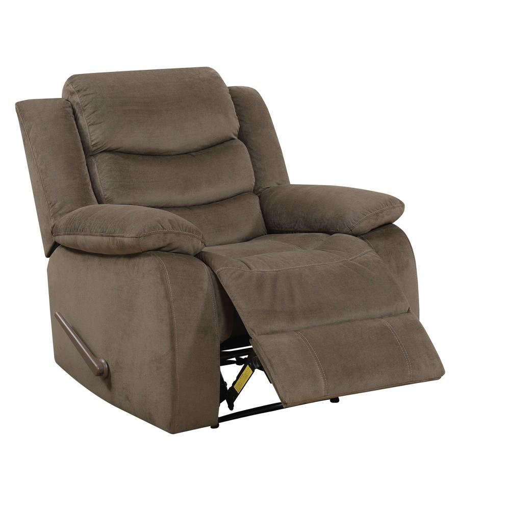 Aubrey Accent Chairs Dark Brown - ioHOMES