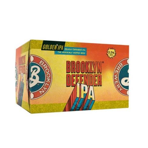 Brooklyn Defender IPA Beer - 6pk/12 fl oz Cans - image 1 of 3