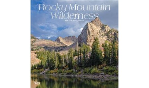 Rocky Mountain Wilderness 2019 Calendar -  (Paperback) - image 1 of 1
