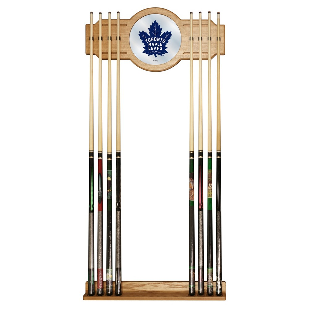ACE/NORTH HILLS Toronto Maple Leafs Cue Rack with Mirror