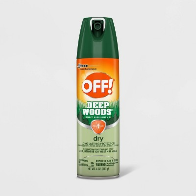 OFF! Deep Woods Insect Repellent VIII Dry - 4oz/1ct