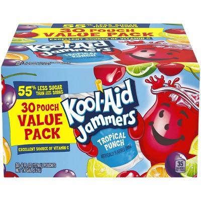 Kool-Aid Jammer Tropical Punch - 30pk/6 fl oz Pouches