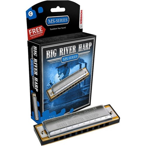 Hohner 590 Big River MS-Series Harmonica - image 1 of 6