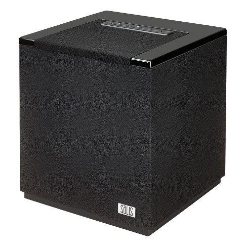 SOLIS Bluetooth/Wi-Fi Stereo Smart Speaker with Chromecast built-in - Black (SO-7000) - image 1 of 4