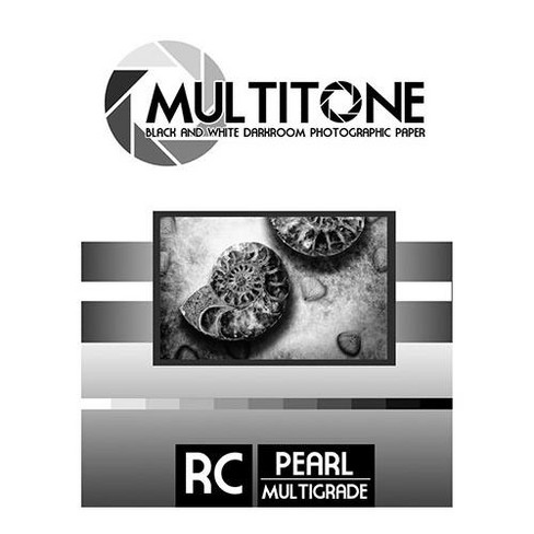 Inkpress MultiTone Black & White Resin Coated BW Pearl Luster Darkroom Photographic Paper, 5x7 , 250 Sheets - image 1 of 1