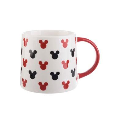 Disney Mickey Mouse & Friends Mickey Icons Porcelain Coffee Mug 26oz - Formation Brands LLC