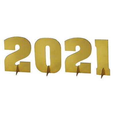 4ct '2021' Graduation Tabletop Décor and Accessories - Spritz™
