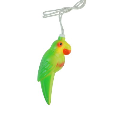 Northlight 10 Multicolor Tropical Parrot Bird Christmas Lights - 7.5 ft White Wire