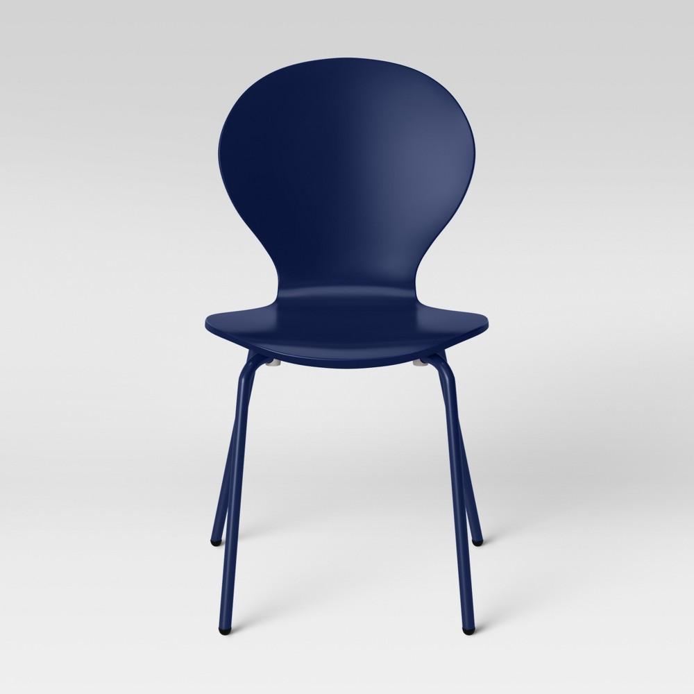 Image of Frankie Bentwood Kids Desk Chair Navy - Pillowfort