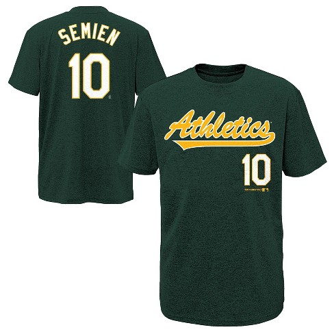 Oakland Athletics Boys' Marcus Semien T-Shirt Jersey - image 1 of 3