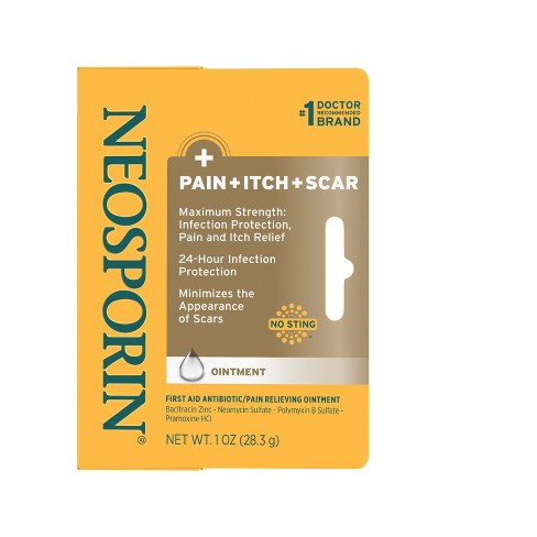 Neosporin First Aid Antibiotic/Pain Relieving Ointment - 1oz - image 1 of 3