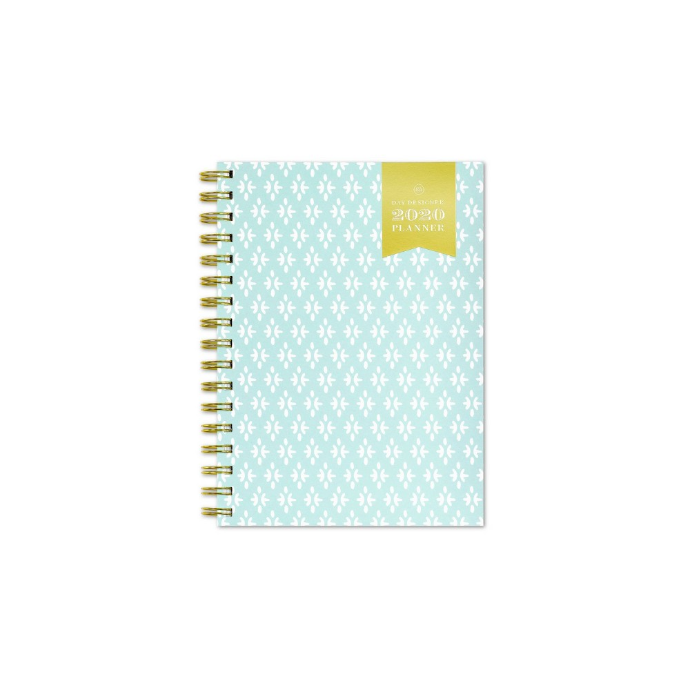 "Image of ""2020 Planner 5.875""""x 8.625"""" Motif Blue - Day Designer for Blue Sky"""