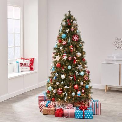 85pc Winter Whimsy Christmas Ornament Kit - Wondershop™