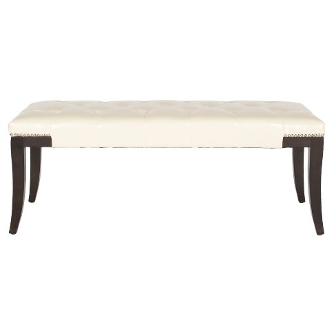 Gibbons Tufted Bench - Safavieh® - image 1 of 4