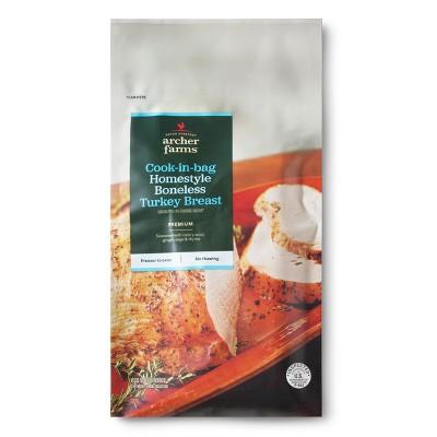 Cook-in-bag Homestyle Boneless Turkey - 2.75lbs - Archer Farms™