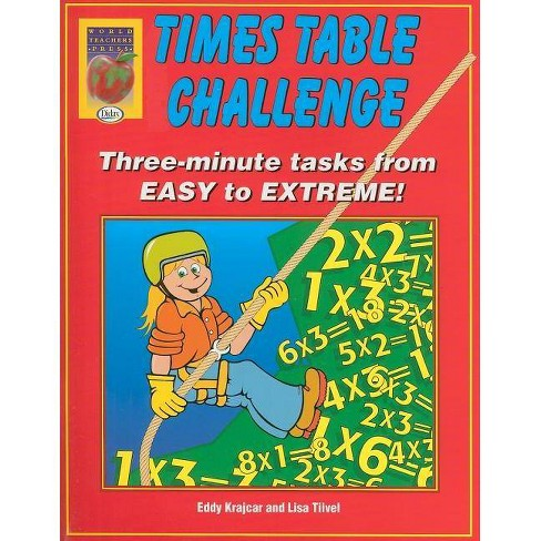 Times Table Challenge - by  Eddy Krajcar & Lisa Tiivel (Paperback) - image 1 of 1