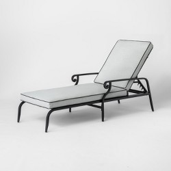 Chester Aluminum Patio Chaise Lounge - Threshold™
