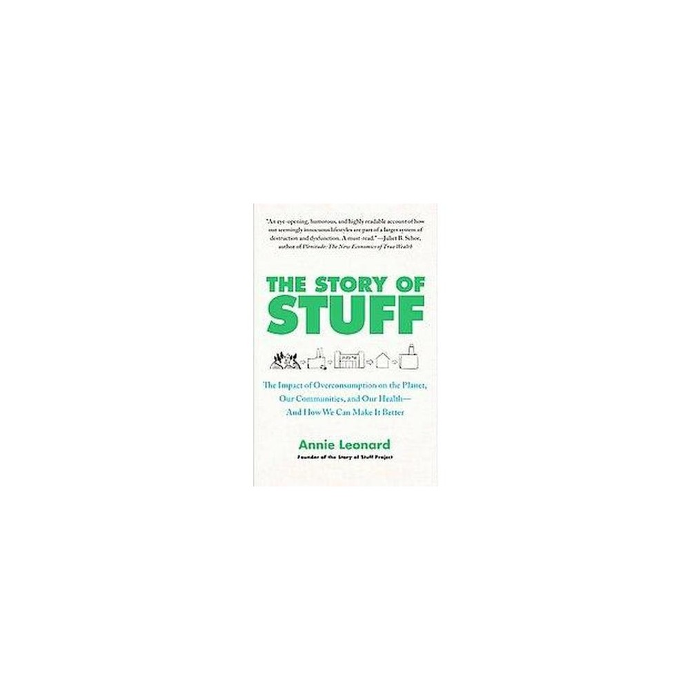 Story of Stuff : The Impact of Overconsumption on the Planet, Our Communities, and Our Health-and How We
