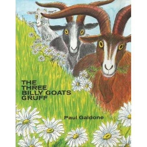 The Three Billy Goats Gruff - (Paul Galdone Classics) by  Paul Galdone (Hardcover) - image 1 of 1