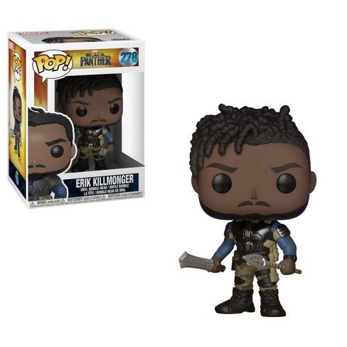 Funko® POP! Marvel: Black Panther- Erik Killmonger with Chase Mini Figure - image 1 of 2