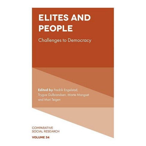 Elites and People - (Comparative Social Research) (Hardcover) - image 1 of 1
