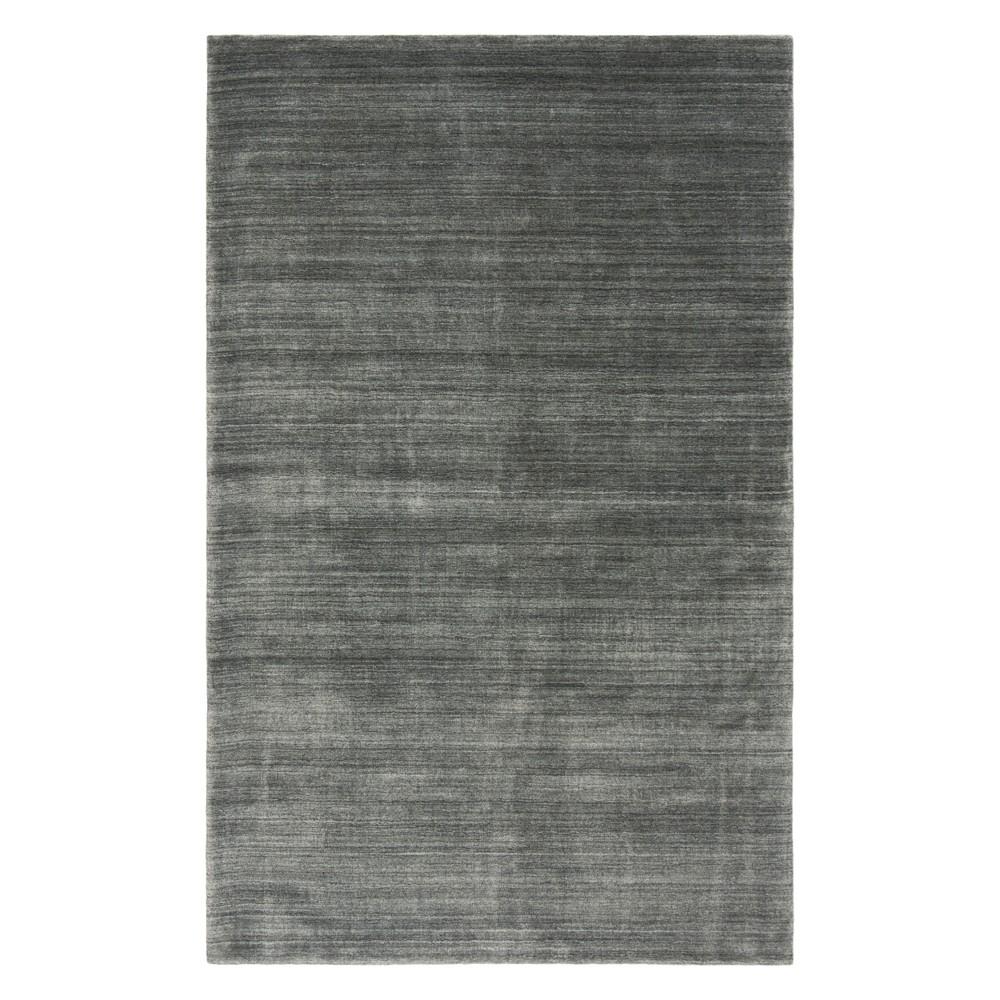 9'X12' Solid Area Rug Gray - Safavieh
