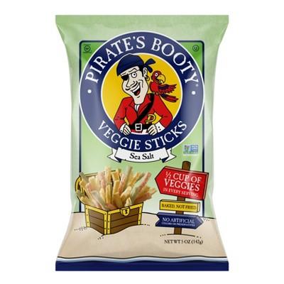Pirate's Booty Sea Salt Veggie Sticks - 5oz