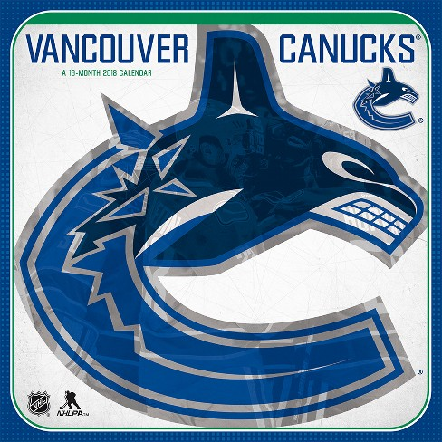 2018 Vancouver Canucks Wall Calendar - Trends International - image 1 of 4