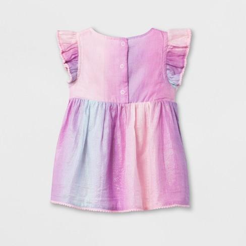 245d8b290486 Baby Girls  Dress And Diaper Cover Set - Cat   Jack™ Rosado Pink 18M    Target