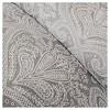 Devin Medallion Paisley Comforter Set Gray - 7pc - image 3 of 4