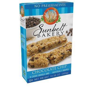 Sunbelt Bakery Chocolate Chip Granola Bars 10ct