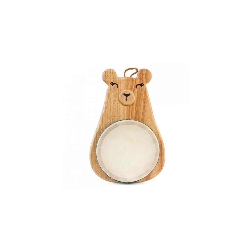 Hohner Green Tones 6 Mama Bear Drum, Wood