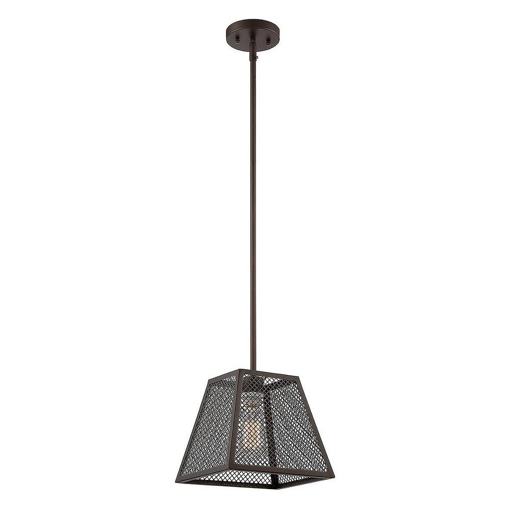 Dark Metallic Bronze Pendant Ceiling Lights - Z-Lite