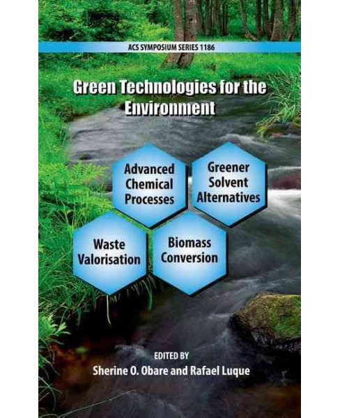 Green Technologies for the Environment (Hardcover) - image 1 of 1