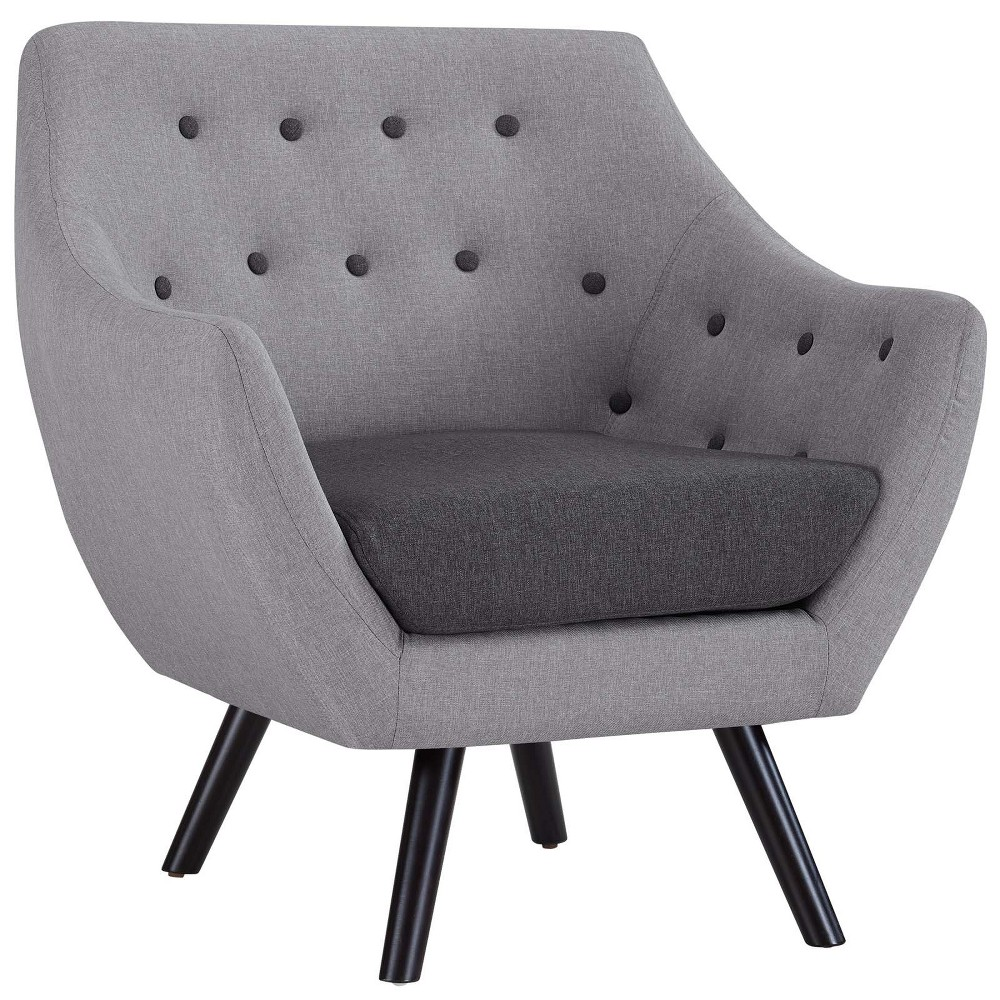 Allegory Armchair Light Gray - Modway