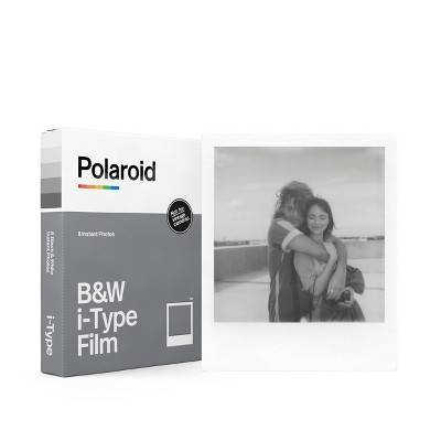 Polaroid B&W Film for i-Type- White Frame