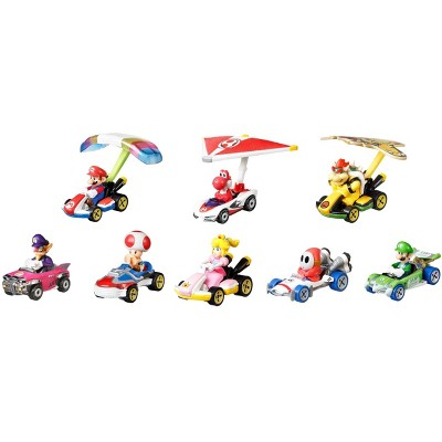 Hot Wheels Mario Kart  Collector Set - 8pk