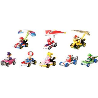 Hot Wheels Mario Kart  Collector Set - 8pk