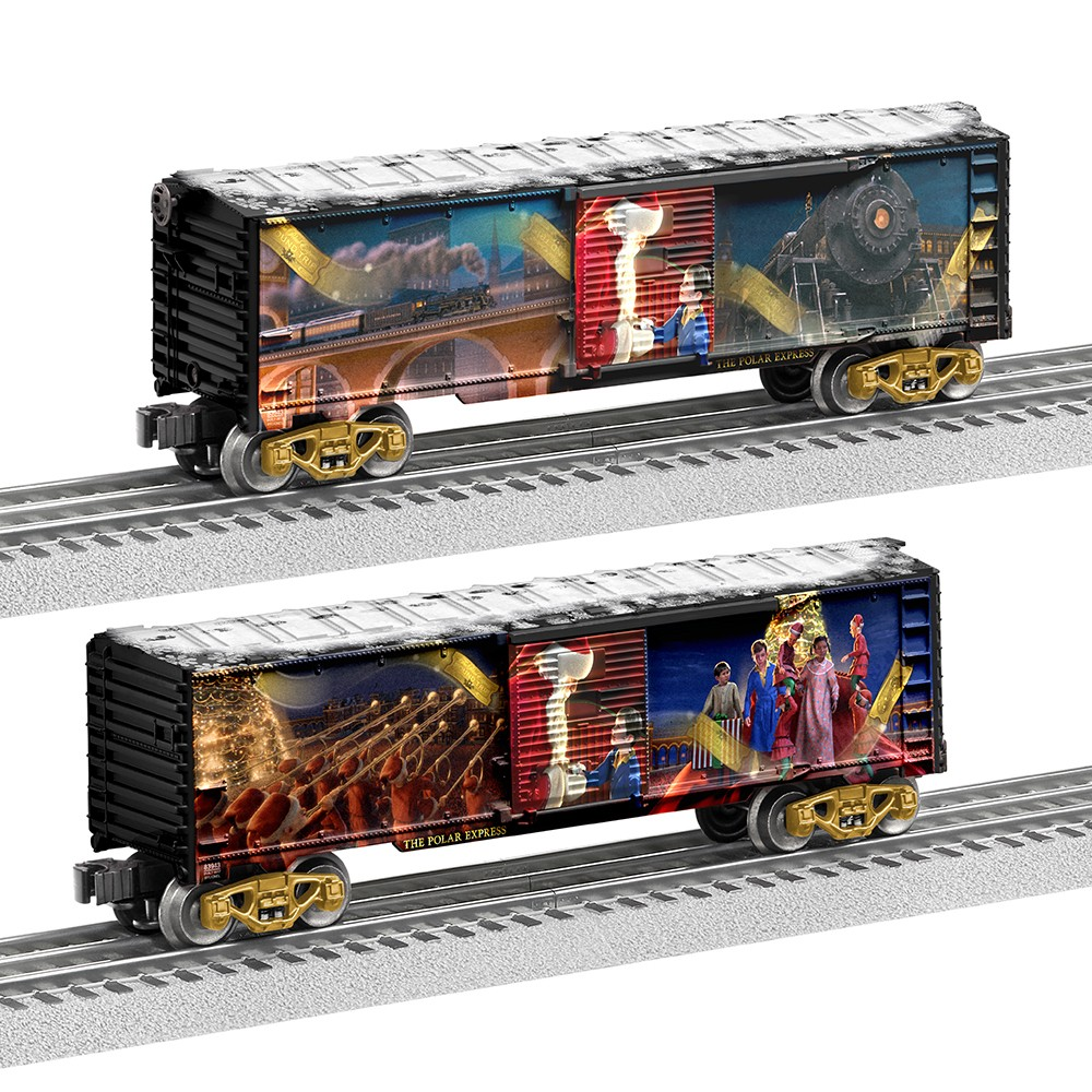 Lionel The Polar Express Story Boxcar