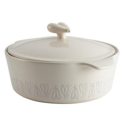 Ayesha Curry 2.5qt Home Collection Stoneware Round Casserole