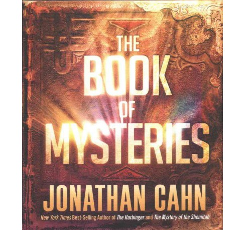 Book of Mysteries (MP3-CD) (Jonathan Cahn) - image 1 of 1